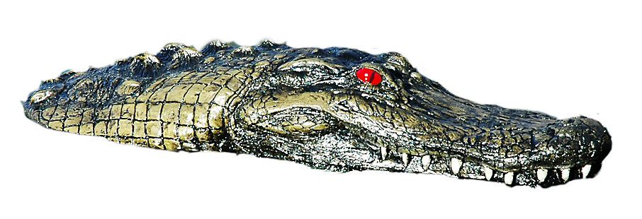 Floating Alligator Airstone Marker