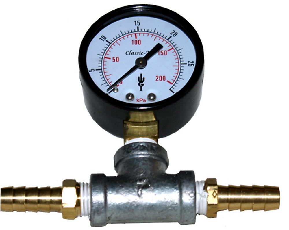 In-Line Pressure Gauge