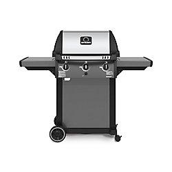 Broil-Mate 3-Burner Pedestal Propane BBQ in Cast Aluminum