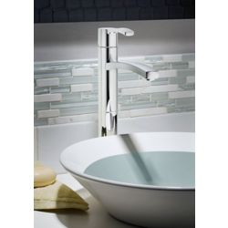 American Standard Perth Single Hole 1-Handle High Arc Bathroom Faucet in Chrome with Lever Handle