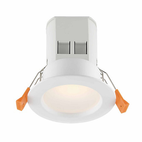 Commercial electric 3 inch white integrated led recessed light kit commercial electric 3 inch white integrated led recessed light kit the home depot canada aloadofball Gallery