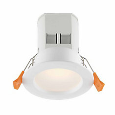 3-inch White Integrated LED Recessed Light Kit (4-Pack) - ENERGY STAR®