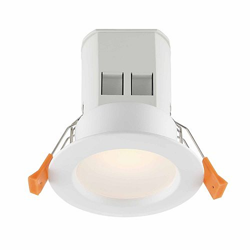 Commercial Electric 3-inch White Integrated LED Recessed Kit (4-Pack)