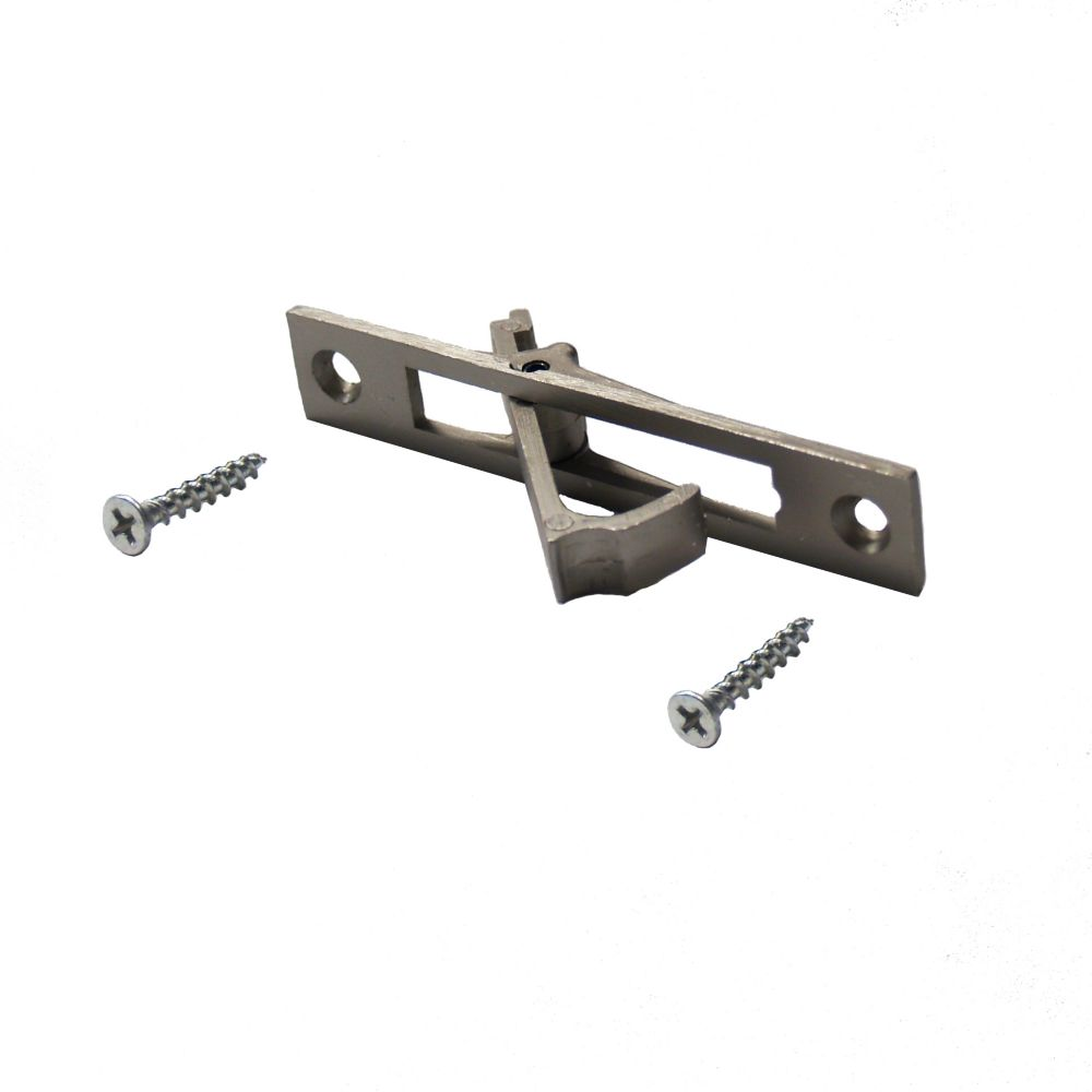 Satin Nickel Pocket Door Edge Pull