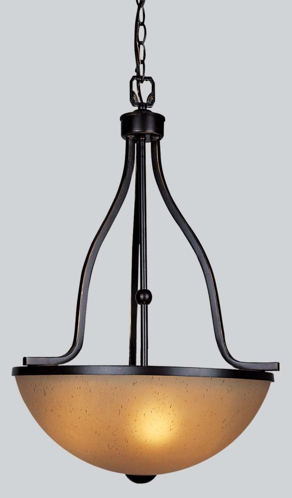 shawson lighting 42 86cm luminaire suspendu fini bronze oxyd home depot canada. Black Bedroom Furniture Sets. Home Design Ideas