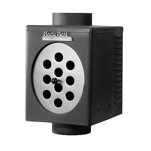 Magic Heat - Heat Reclaimer For Wood Stove  (ULC Approved For 7 Inch Flue)