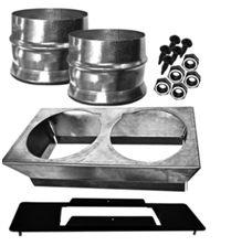 Hot Air Plenum Kit For Drolet Eco65 Pellet Heater