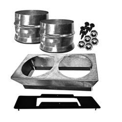 SBI Hot Air Plenum Kit For Drolet Eco65 Pellet Heater