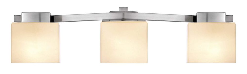 Belmore Brushed Nickel Vanity Fixture - 3 Light