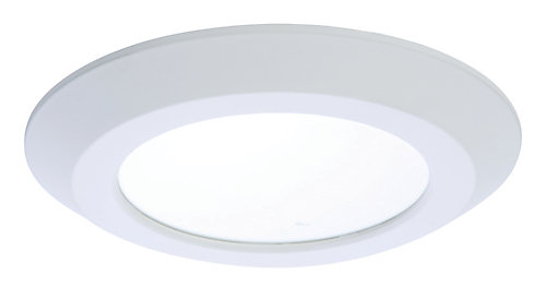 Halo 6 inch led recessedsurface white disk light the home depot 6 inch led recessedsurface white disk light mozeypictures