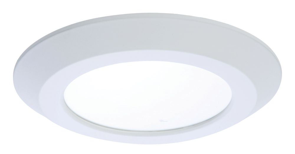 6 Inch LED Recessed/Surface White Disk Light