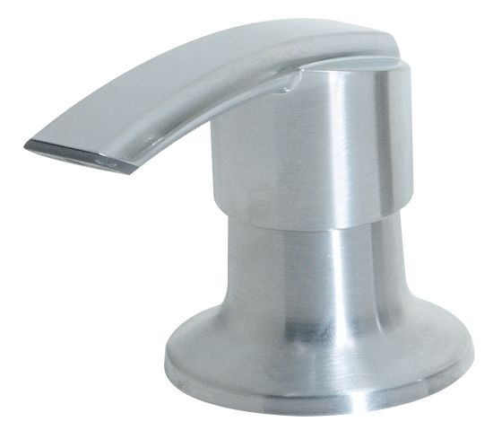 Kitchen 1-Handle Soap Dispenser in Polished Chrome