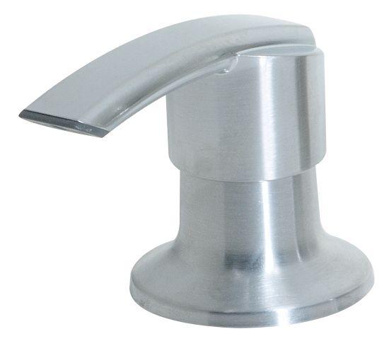 Distributeur de savon à 1poignée, fini Chrome poli