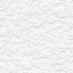 Heavy Stipple Paintable White Wallpaper