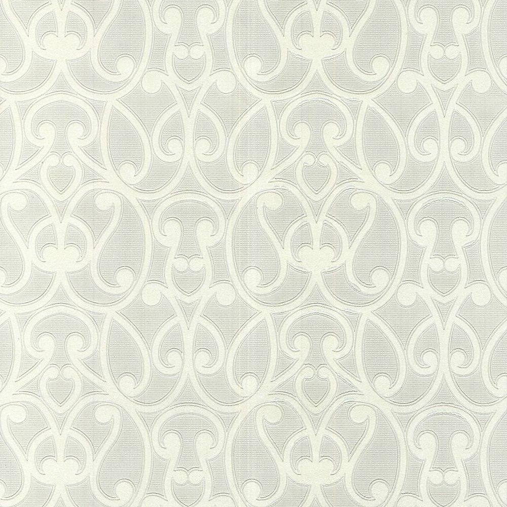 Jude Paintable White Wallpaper
