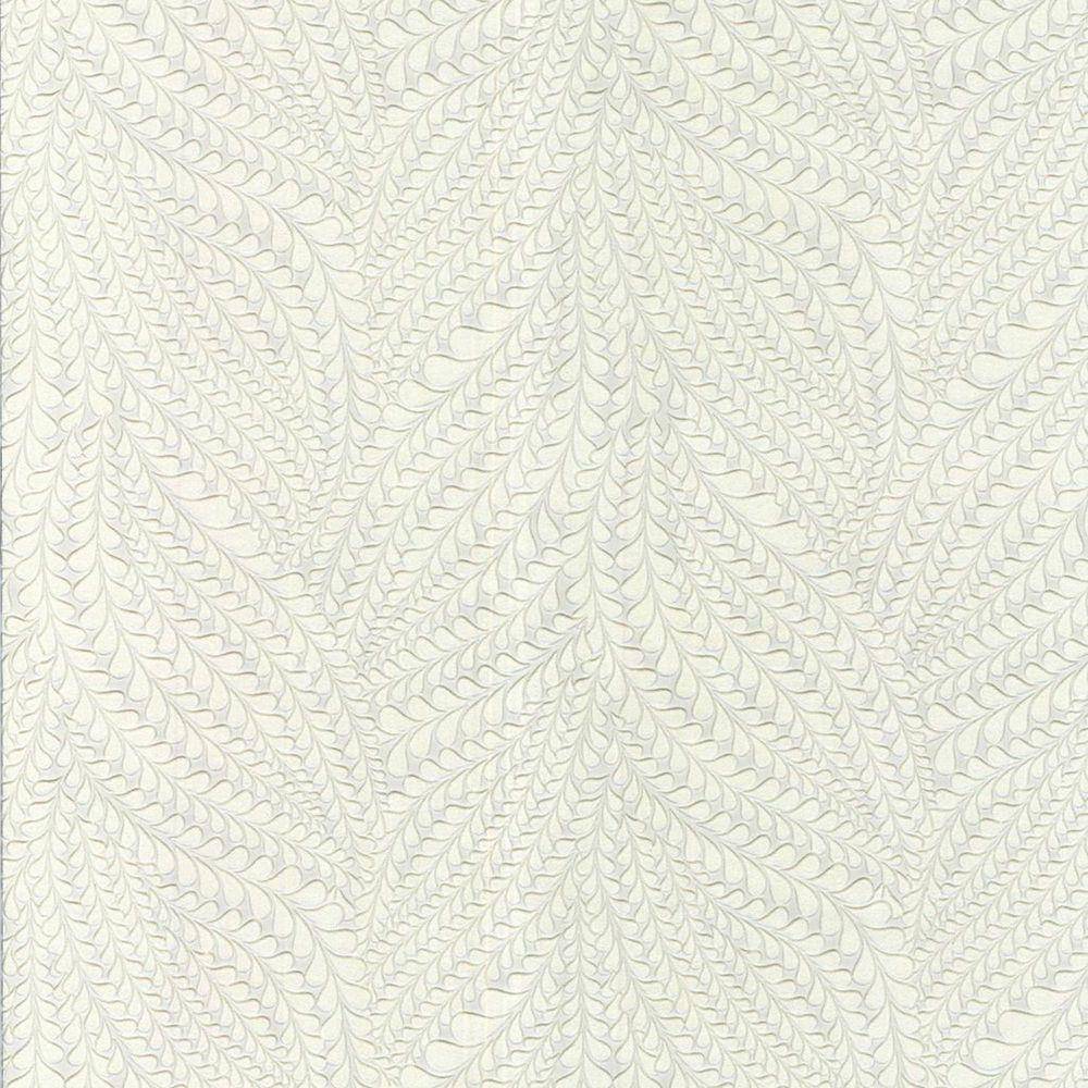 Emily Paintable White Wallpaper