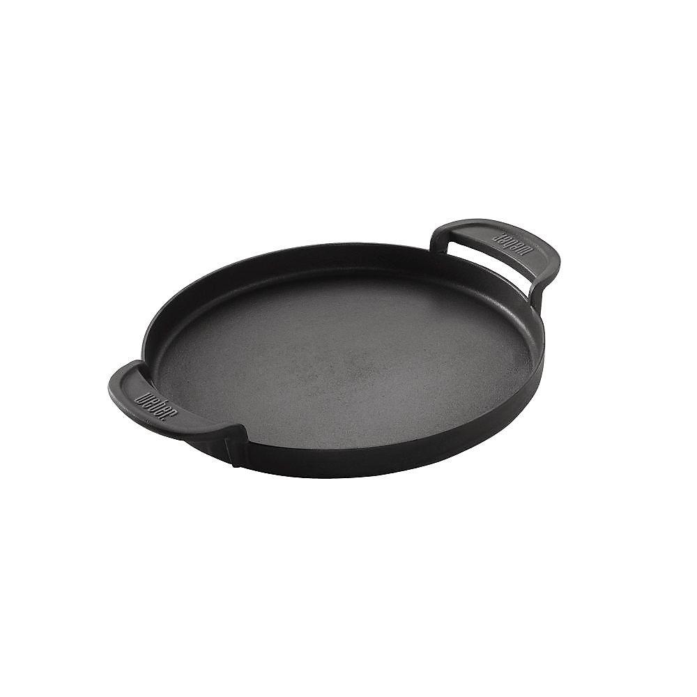 Original Gourmet BBQ System Porcelain-Enamelled Cast Iron Griddle Insert