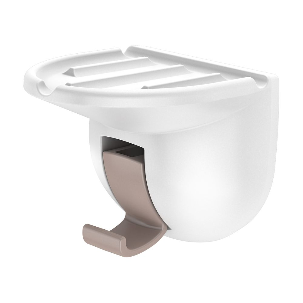 Suction Soap Holder - White