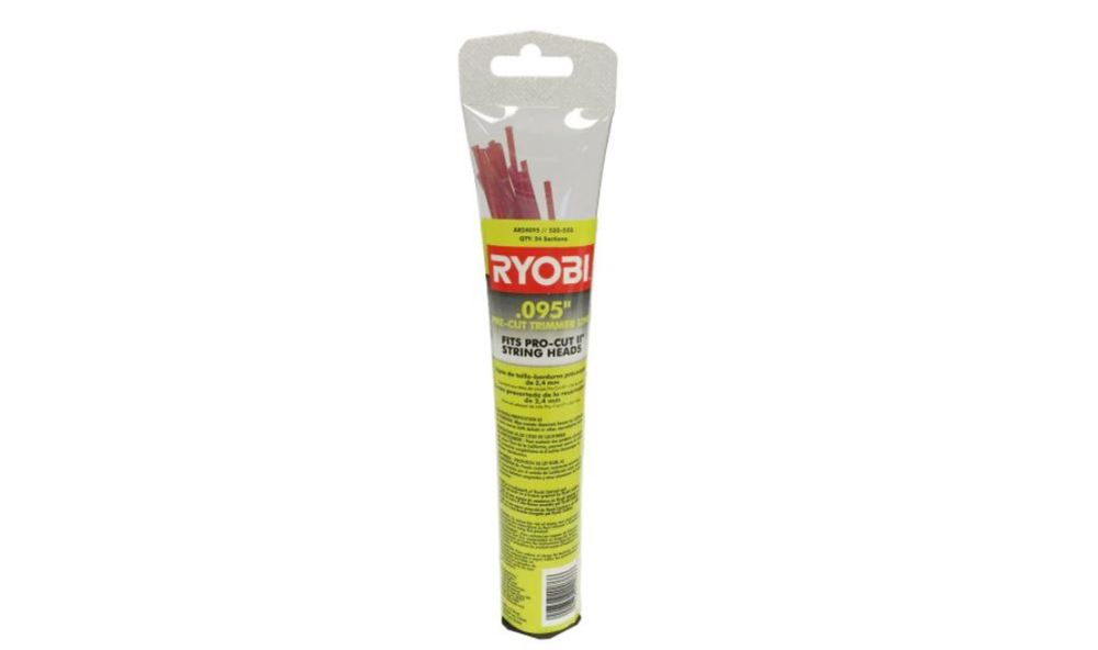 RYOBI 0.095-Inch Pro Cut II Replacement Trimmer Line
