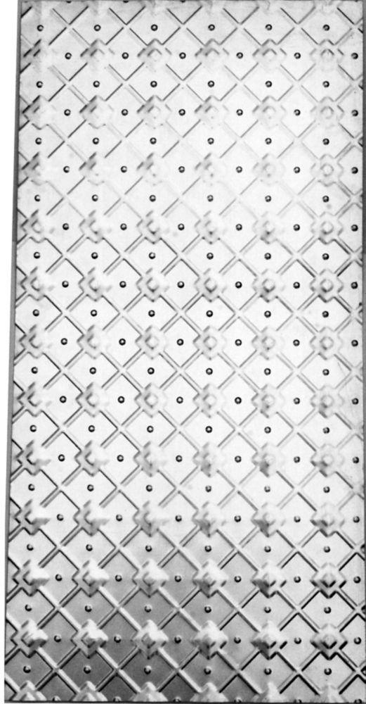 Archimedes pressed metal panel