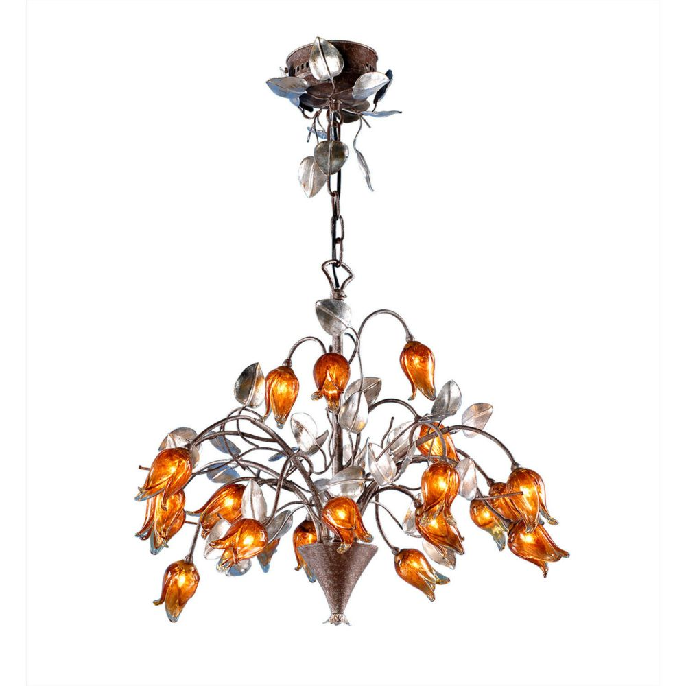 20 Light Tulip Ceiling Fixture Tulips