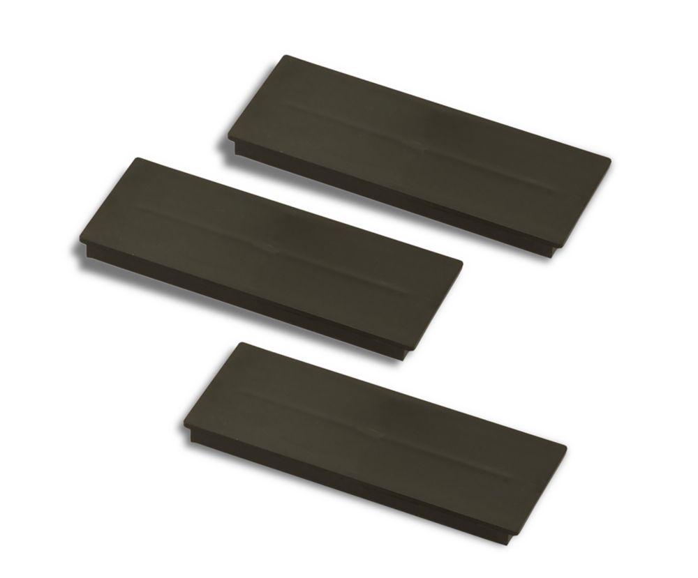 Plaques dobturation pour les tableaux de répartition HomeLine - Packet de 3 plaque