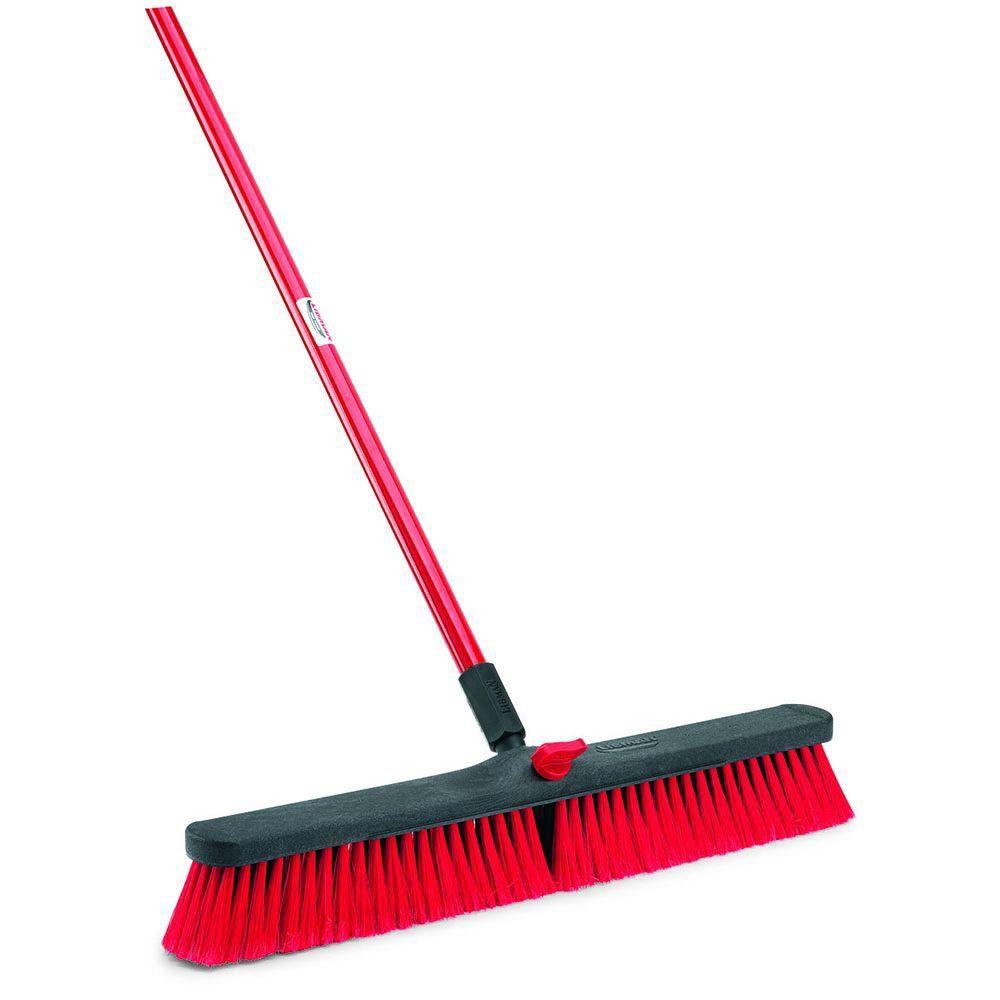 Libman 24 In Multi Surface Push Broom