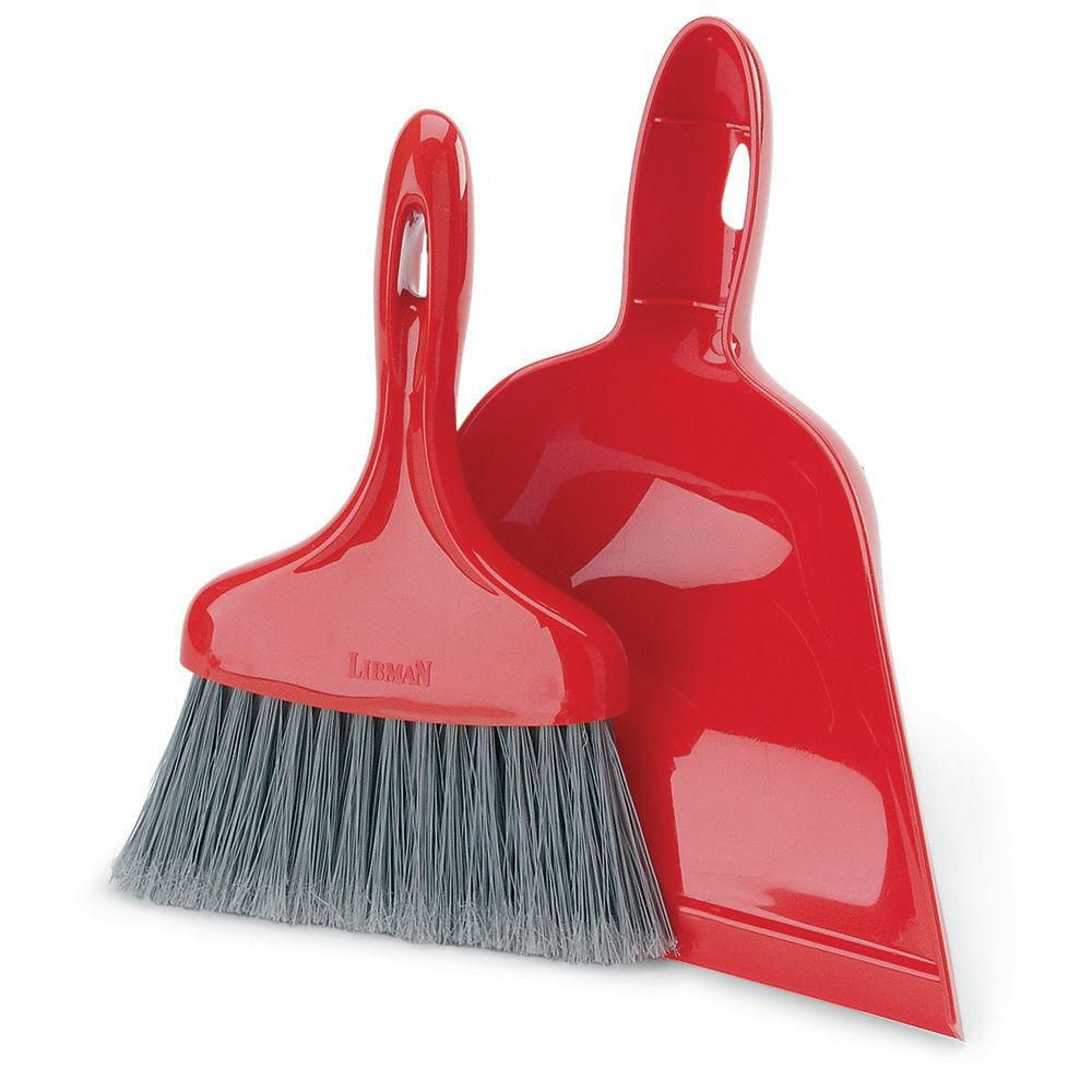 Libman Dust Pan with Whisk Broom