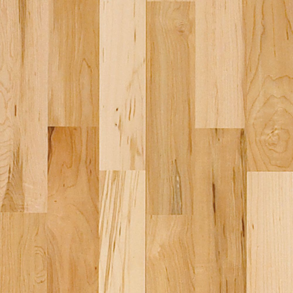 Natural Vintage Maple High Gloss 3/8  Inches  Thick x 4-(3/4  Inches  Width x Random Length Engineered Click Hardwood Flooring (33 Sq. Ft. /Case)