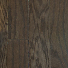 Plancher encliquetable, bois d'ingénierie, 3/8 po x 4 1/4 po, Chêne gris, 20 pi2/boîte
