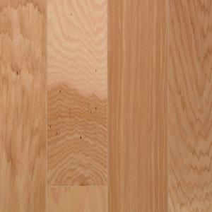 Natural Vintage Hickory 3/8  Inches  Thick x 4-(1/4  Inches  Width x Random Length Engineered Cli...