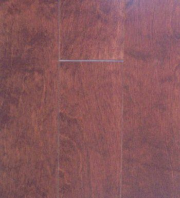Cognac Birch 3/8  Inches  Thick x 4-(1/4  Inches  Width x Random Length Engineered Click Hardwood...