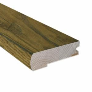 78 Inches Flush Mount Stair Nose-Matches Satchel Oak Solid Flooring