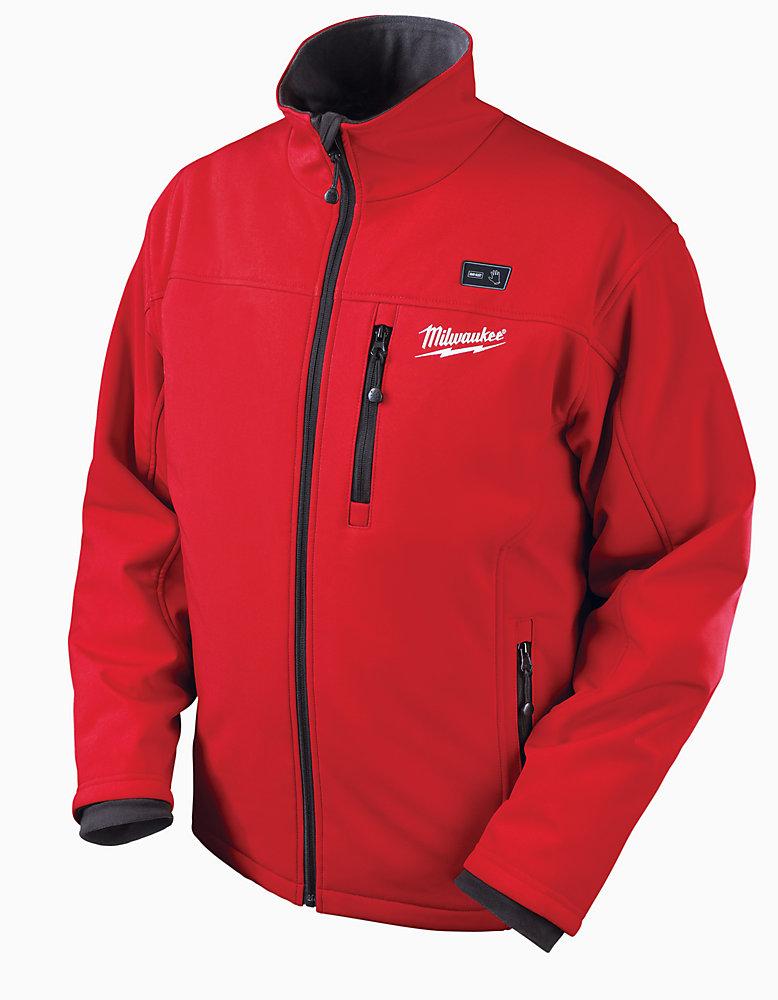 M12  Red Premium Multi-Zone Heated Jacket - Xxxlarge