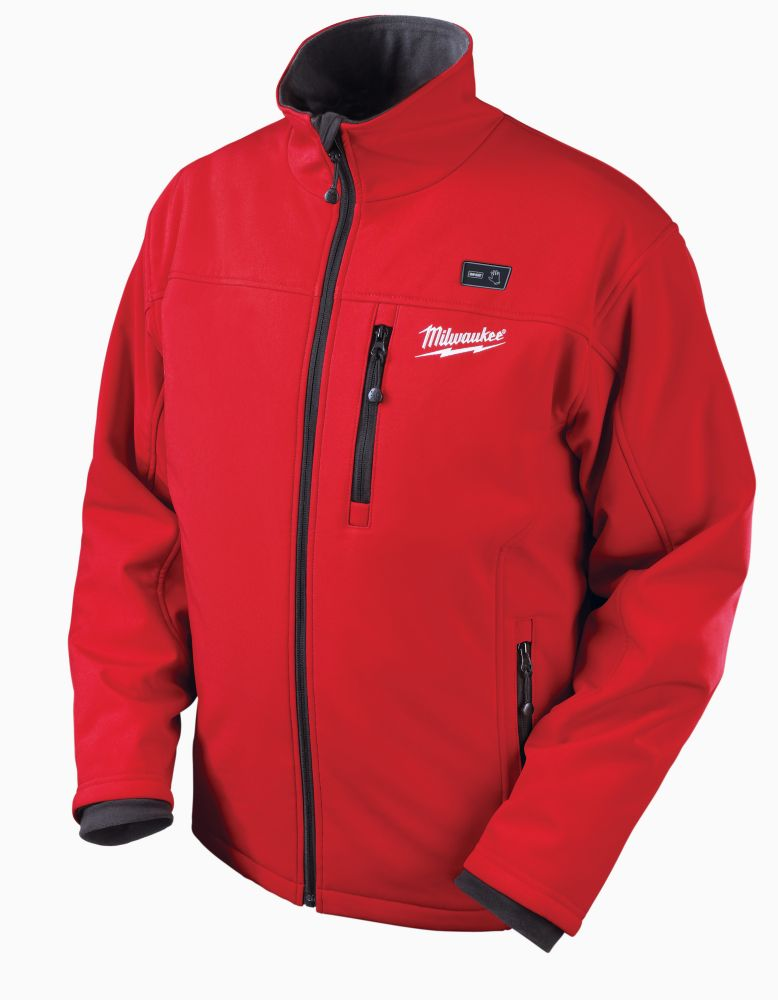 Milwaukee Tool M12  Red Premium Multi-Zone Heated Jacket  With Battery - Medium