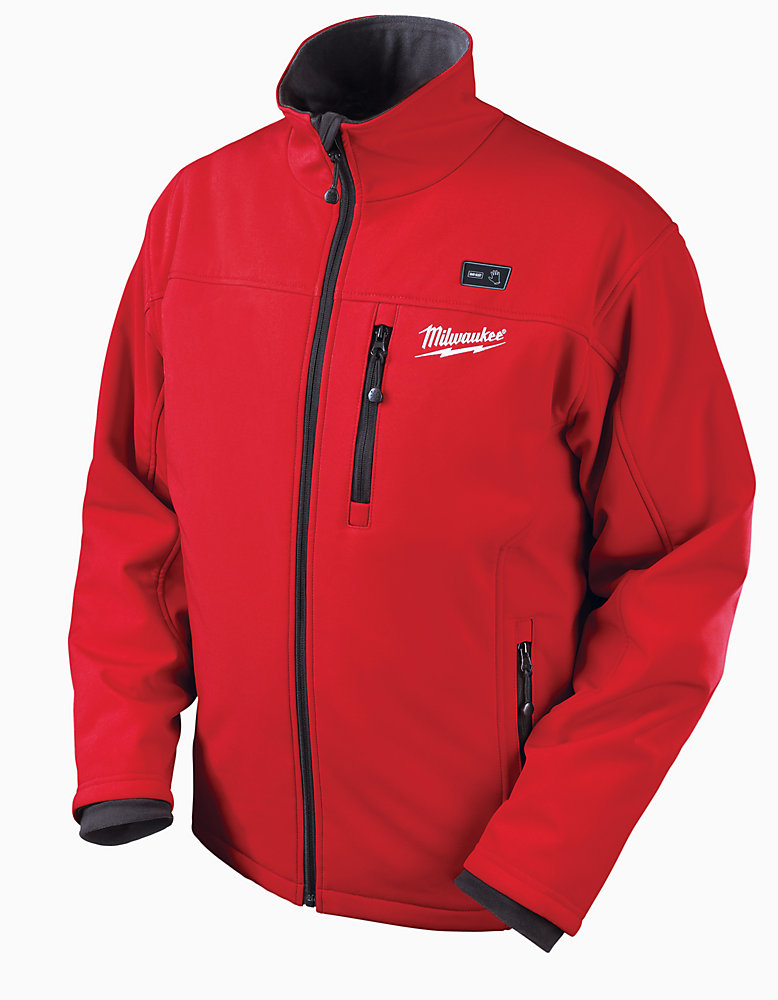 M12  Red Premium Multi-Zone Heated Jacket  With Battery - Xlarge