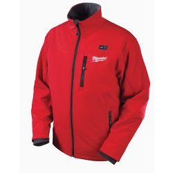 Milwaukee Tool M12  Red Premium Multi-Zone Heated Jacket  With Battery - Xxxlarge