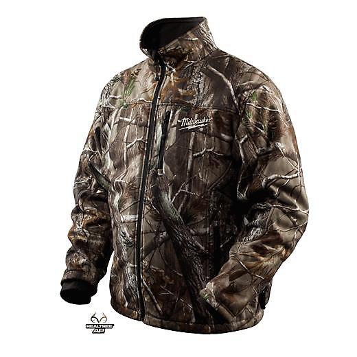 M12  Realtree Ap  Camo Premium Multi-Zone Heated Jacket - Xxxlarge