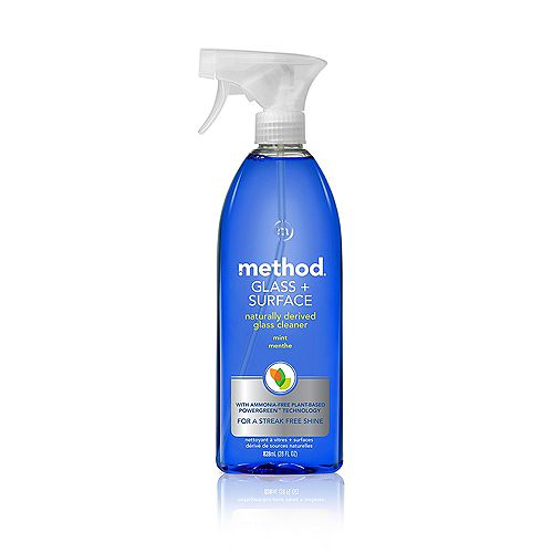 Method 828 mL Glass + Surface Cleaner (Mint)