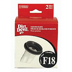 Type F18 Standard Filter (2 Pack)