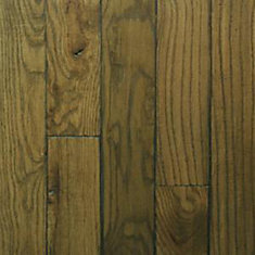 Hand-scraped Satchel Oak 3/4-inch Thick x 3 1/4-inch W Hardwood Flooring(20 sq. ft. / case)