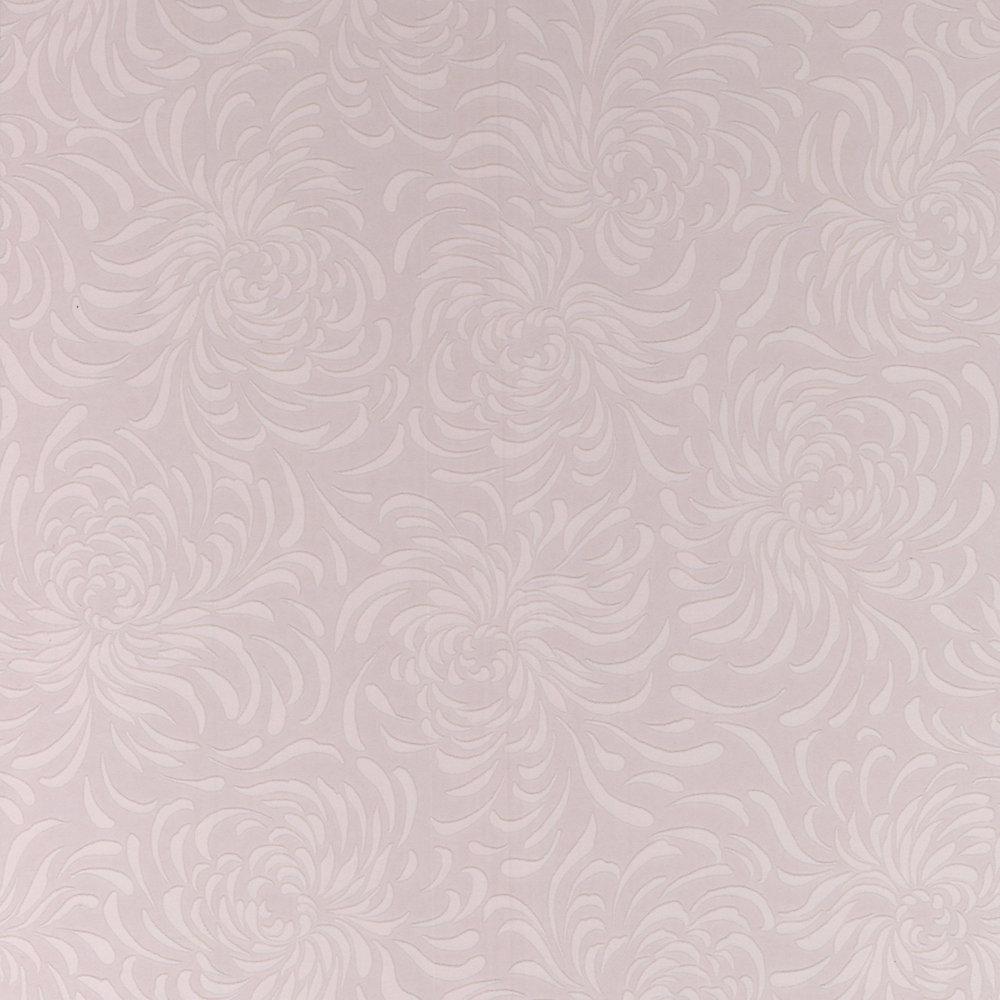 Chrysanthemum Paintable White Wallpaper
