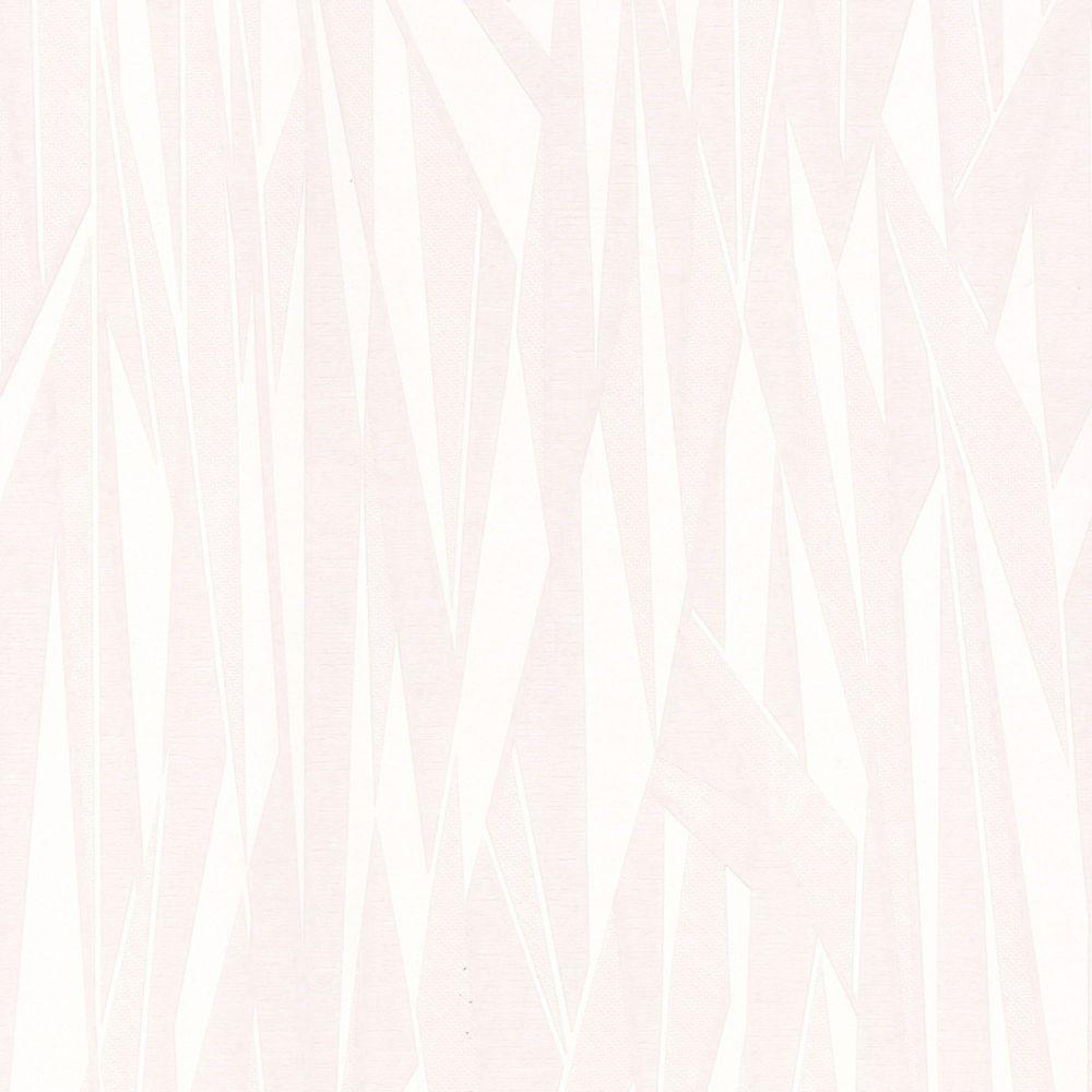 Shatter Paintable White Wallpaper