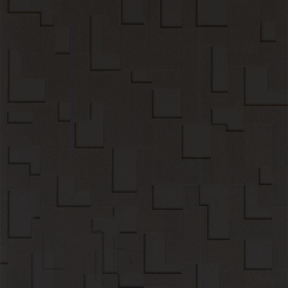Checker Black Removable Wallpaper