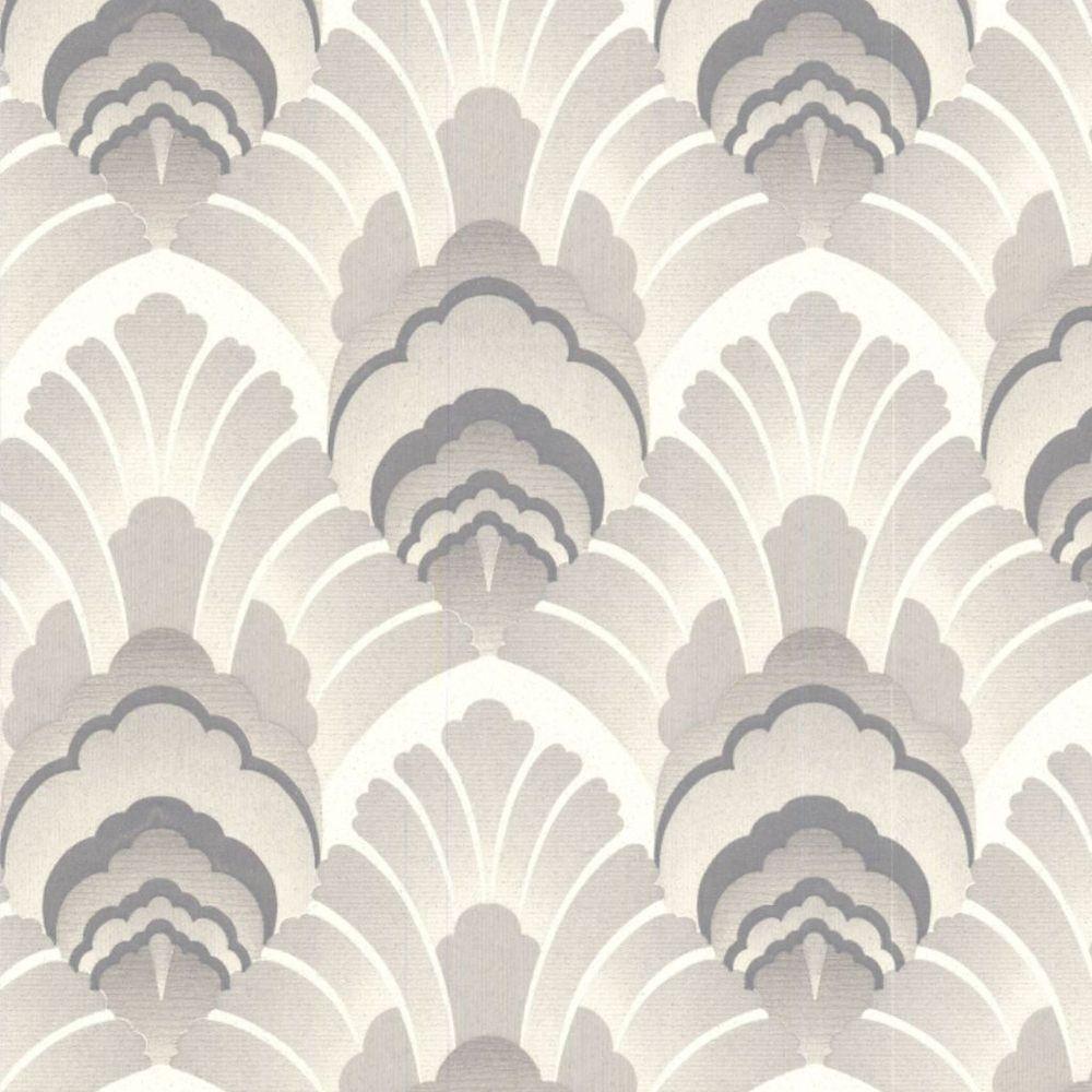 Original Grey/Cream Wallpaper