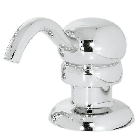 Marielle 1-Handle Soap Dispenser in Polished Chrome