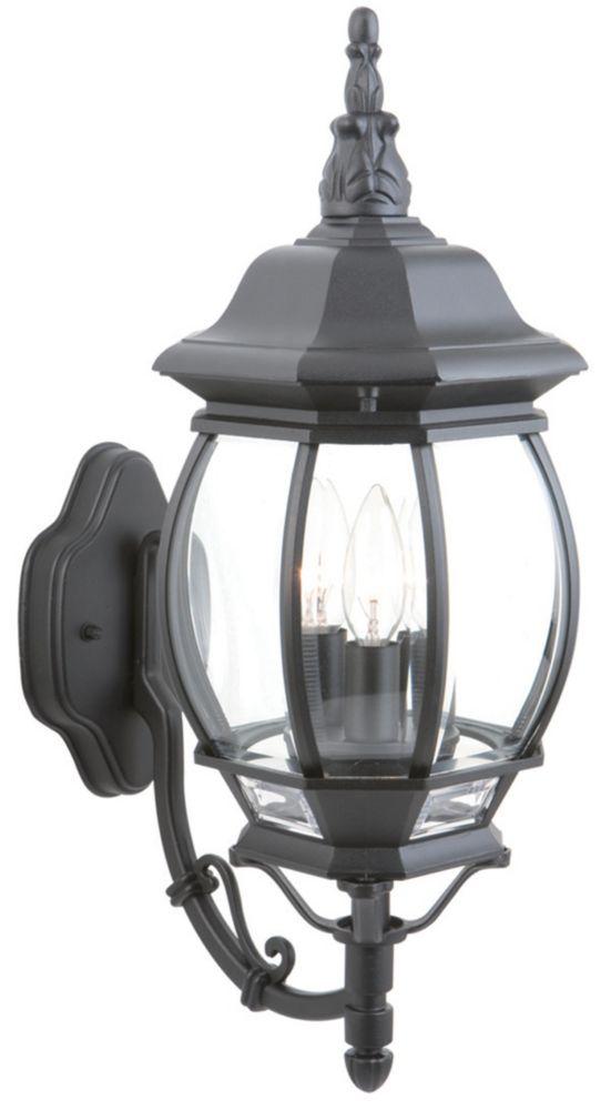 Exterior Wall Lantern - Black
