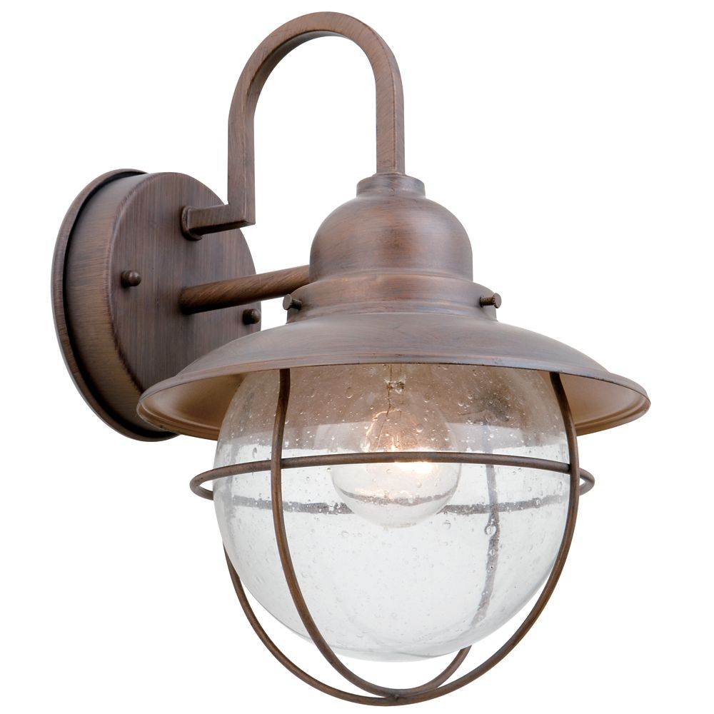 Exterior Wall Lantern - Bronze