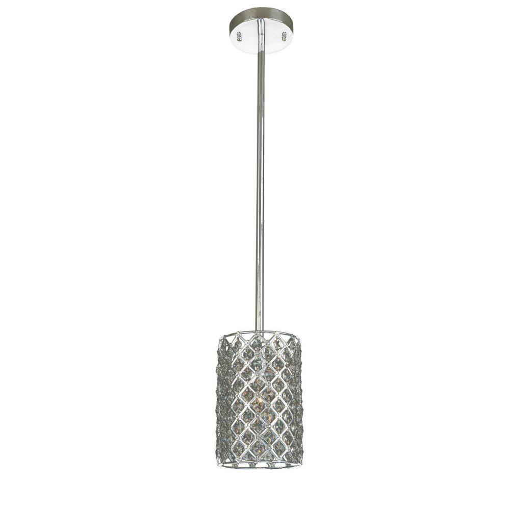 1 La Lumière Fixture Plafond Silver Terminer