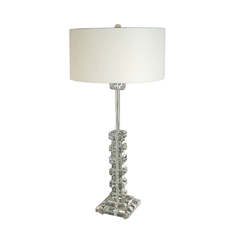 1 Light Table Lamp Cream Finish